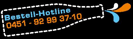 Abbildung Flasche mit Kontaktdaten von Dramburg + Hertwig Getränkefachhandel - Kontakt telefonisch 0451-92993710
